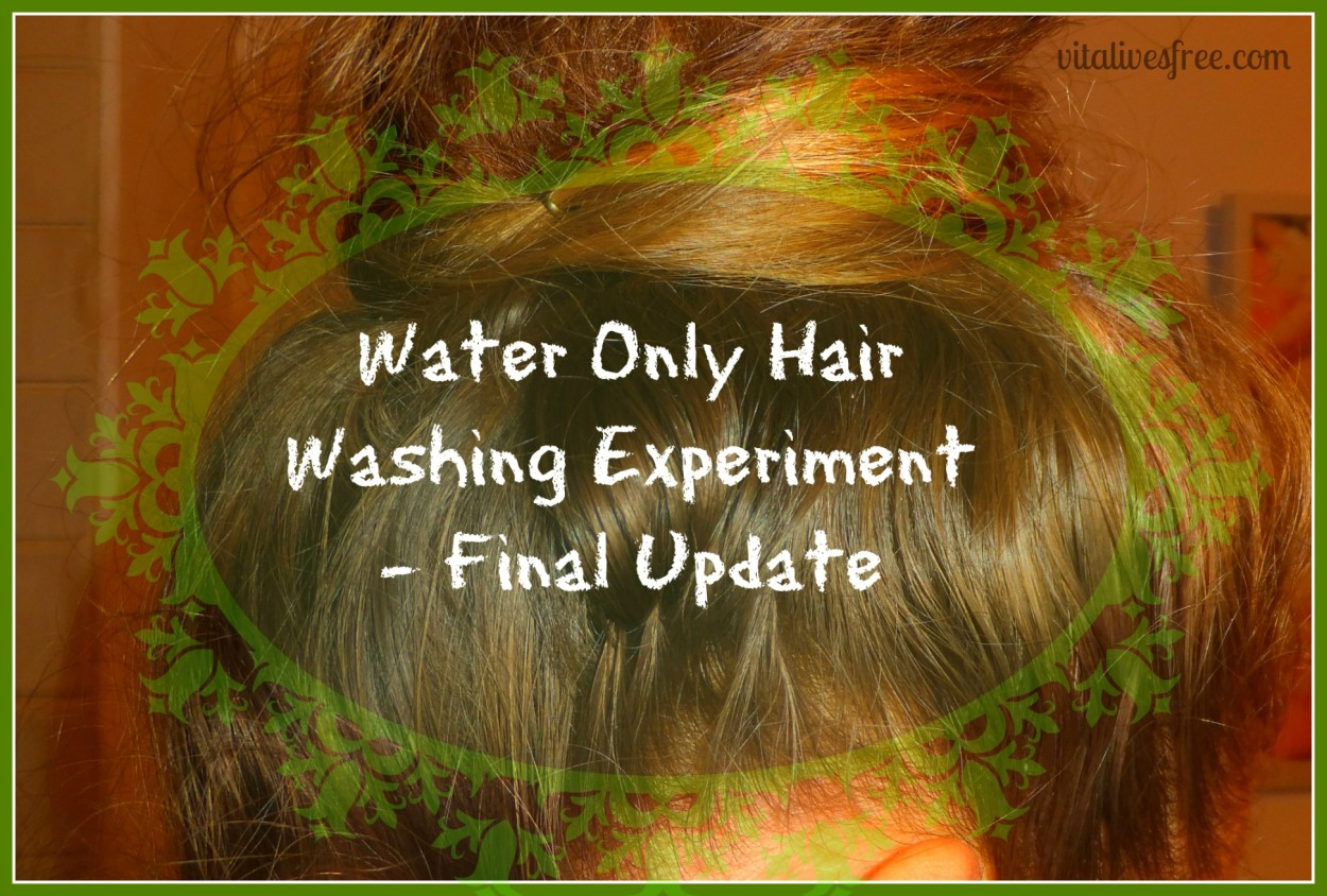 Picture of Water Only Hair Washing - Final Update
