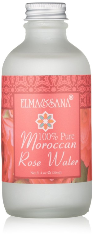 Moroccan rosewater for acne free skin - part of my 100% natural skincare routine.