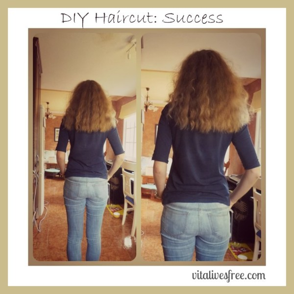 Diy haircut success and why ill probably never visit a diy haircut success results solutioingenieria Choice Image