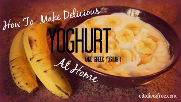 How to make yoghurt (and Greek yoghurt) at home