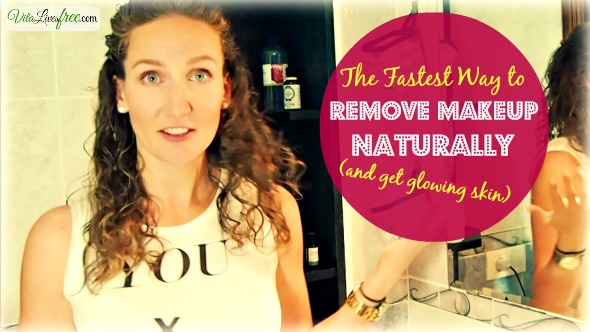 The fastest way to remove makeup naturally