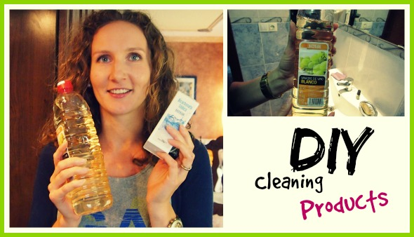 DIY Cleaning Products - clean every surface in your home with 3 natural ingredients