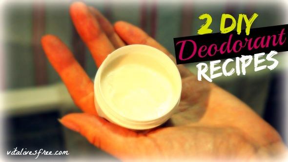 2 DIY Deodorant Recipes and My Body Odour Experience