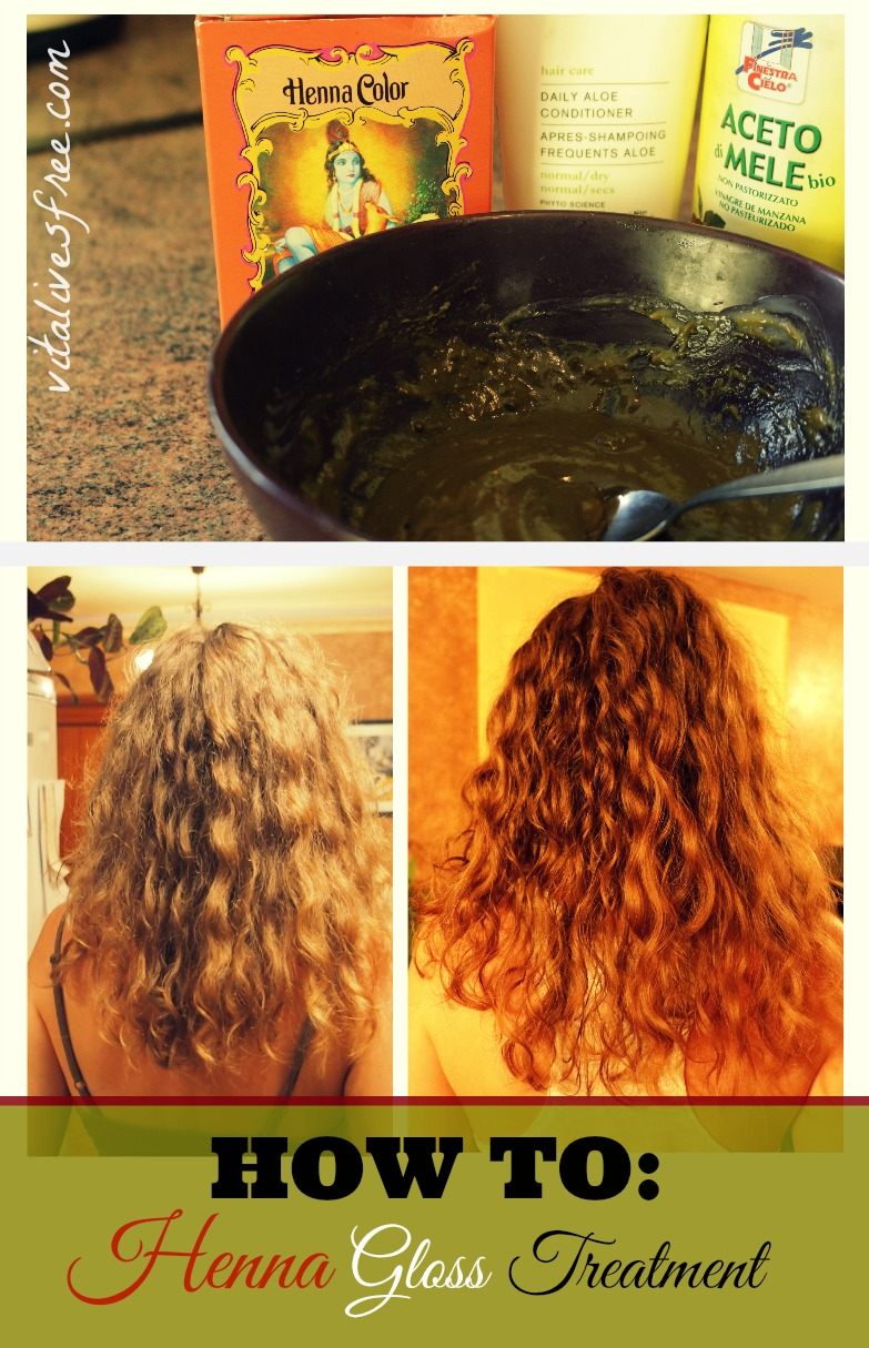 Mehndi On Hair How To Prepare : How to henna gloss treatment for soft and shiny hair