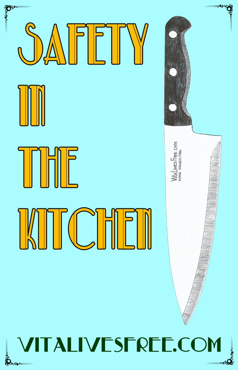 Safety In The Kitchen - Learn to use the knife like pro, say no to injuries.