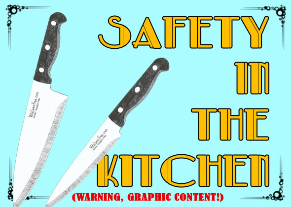 Safety In The Kitchen   Learn To Use The Knife Like Pro, Say No To