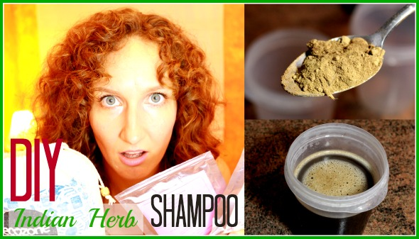 diy indian herbal shampoo
