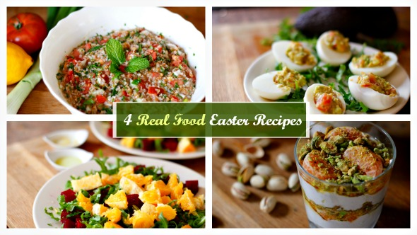 4 Easy Real Food Recipes | What I'll Eat For Easter