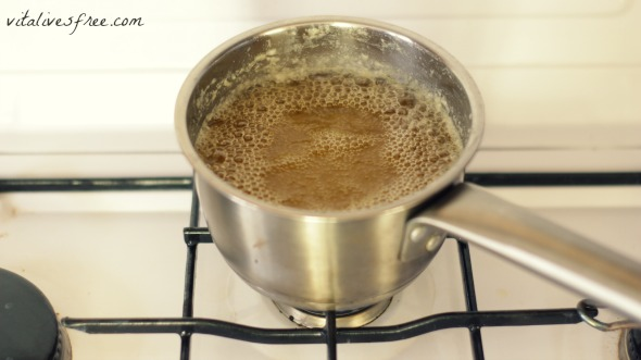 ghee after 40 minutes