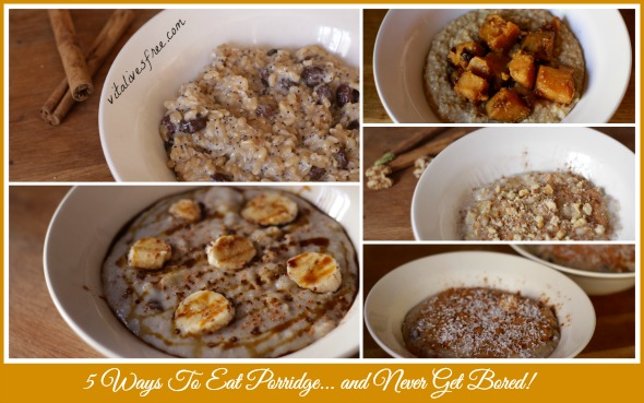 5 Easy Breakfast Recipes: 5 Ways To Eat Porridge And Never Get Bored
