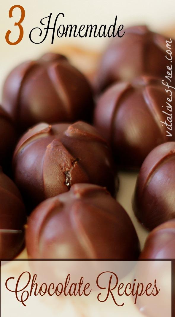 3 Homemade Chocolate Recipes: Nourish Your Body Eating Dessert