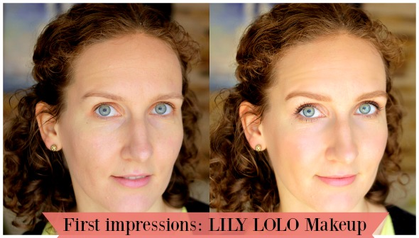 First Impressions: Lily Lolo Makeup + Barely There Nude Look | vitalivesfree.com