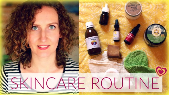 My Updated Natural Skincare Routine for Acne-Prone Skin + Shower Routine