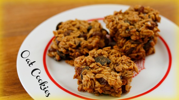 Guilt-Free Oat Cookies Recipe – Quick and Healthy-ish Sweet Treat
