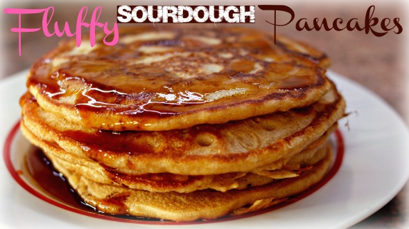 Fluffy Sourdough Pancake Recipe - How To Make Healthier Pancakes for Breakfast