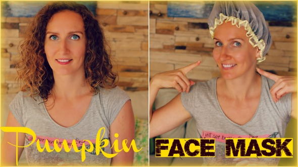 Homemade Brightening Pumpkin Face Mask (Only 3 Ingredients, Also Great as a Hair Mask)