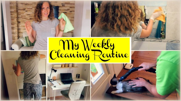 My Weekly Cleaning Routine + A Mini Tour of My Apartment