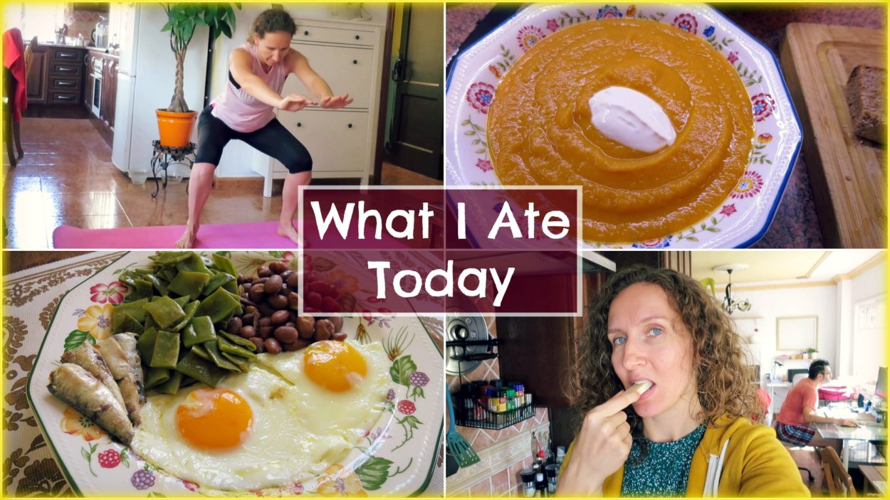 What I Ate Today + Daily Workout (Stronger than Ever, Mouthwatering Cauliflower Soup, Beans Galore)
