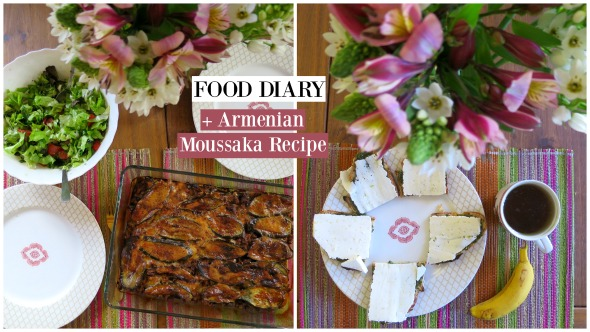 Mouthwatering Armenian Moussaka Recipe + Sunday Food Diary (Intuitive Eating)