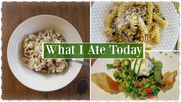 What I Ate Today #18 (Accidental Success in the Kitchen!)