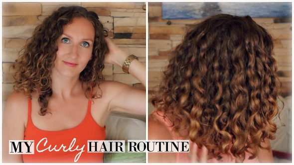 My Updated Frizz-Proof Curly Hair Routine