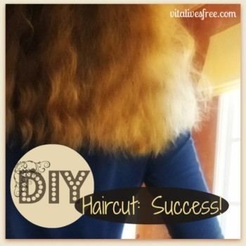 DIY Haircut: Success (And Why I'll Probably Never Visit A Hairdresser Again)
