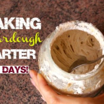 How To Make Sourdough Starter From Scratch in 5 Days